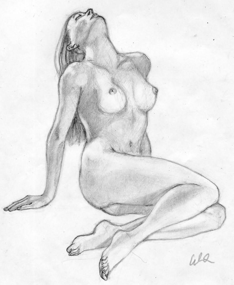 Edgar allan yee female figure drawing
