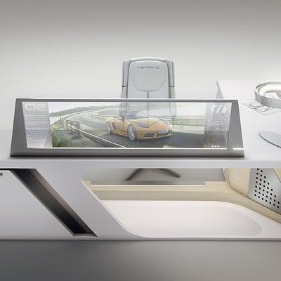 Encho enchev porsche desk design 1