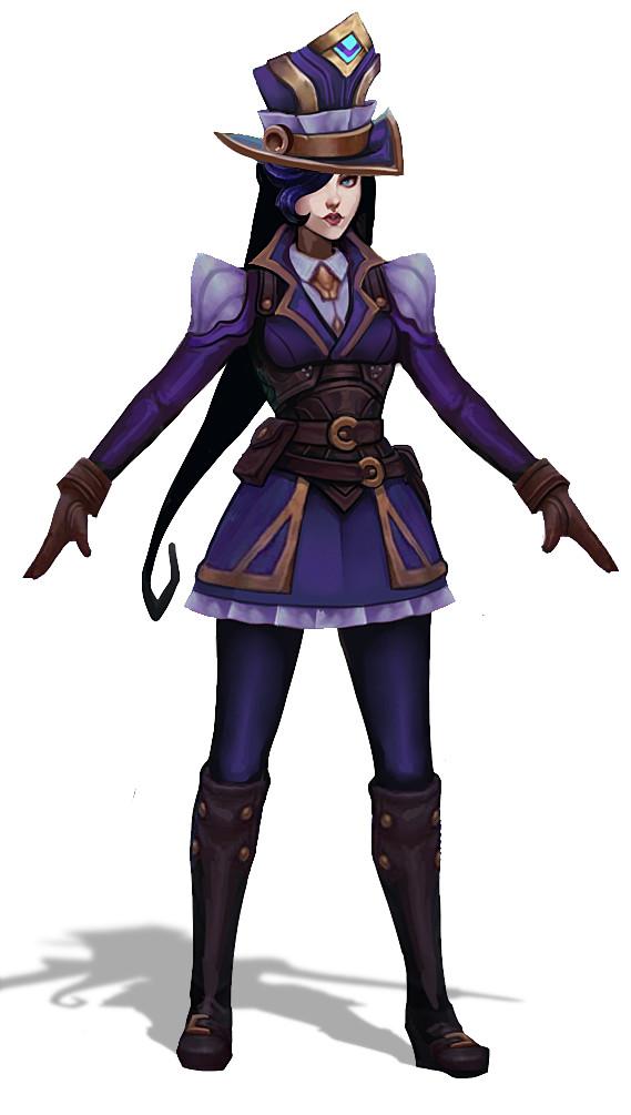 Caitlyn visual update - Fórum da Riot Games