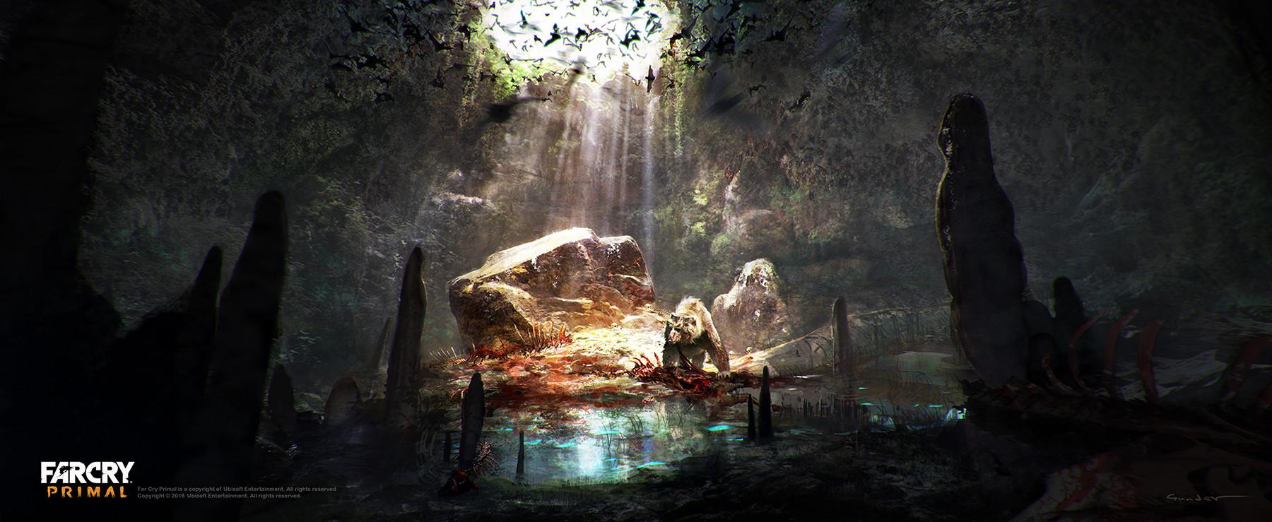 Artstation Cave Bear Cave Michael Gunder