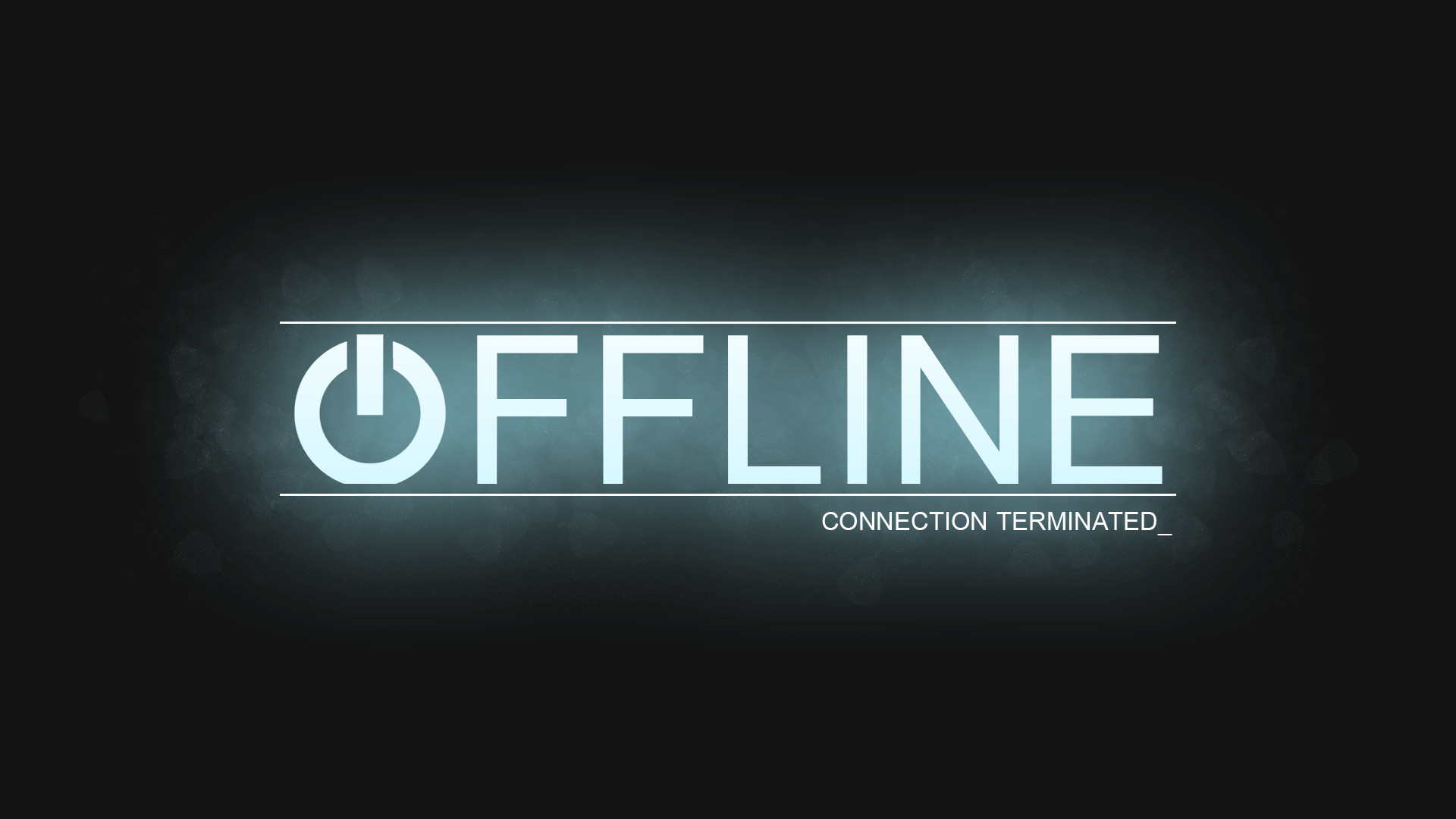 how to set a twitch offline screen