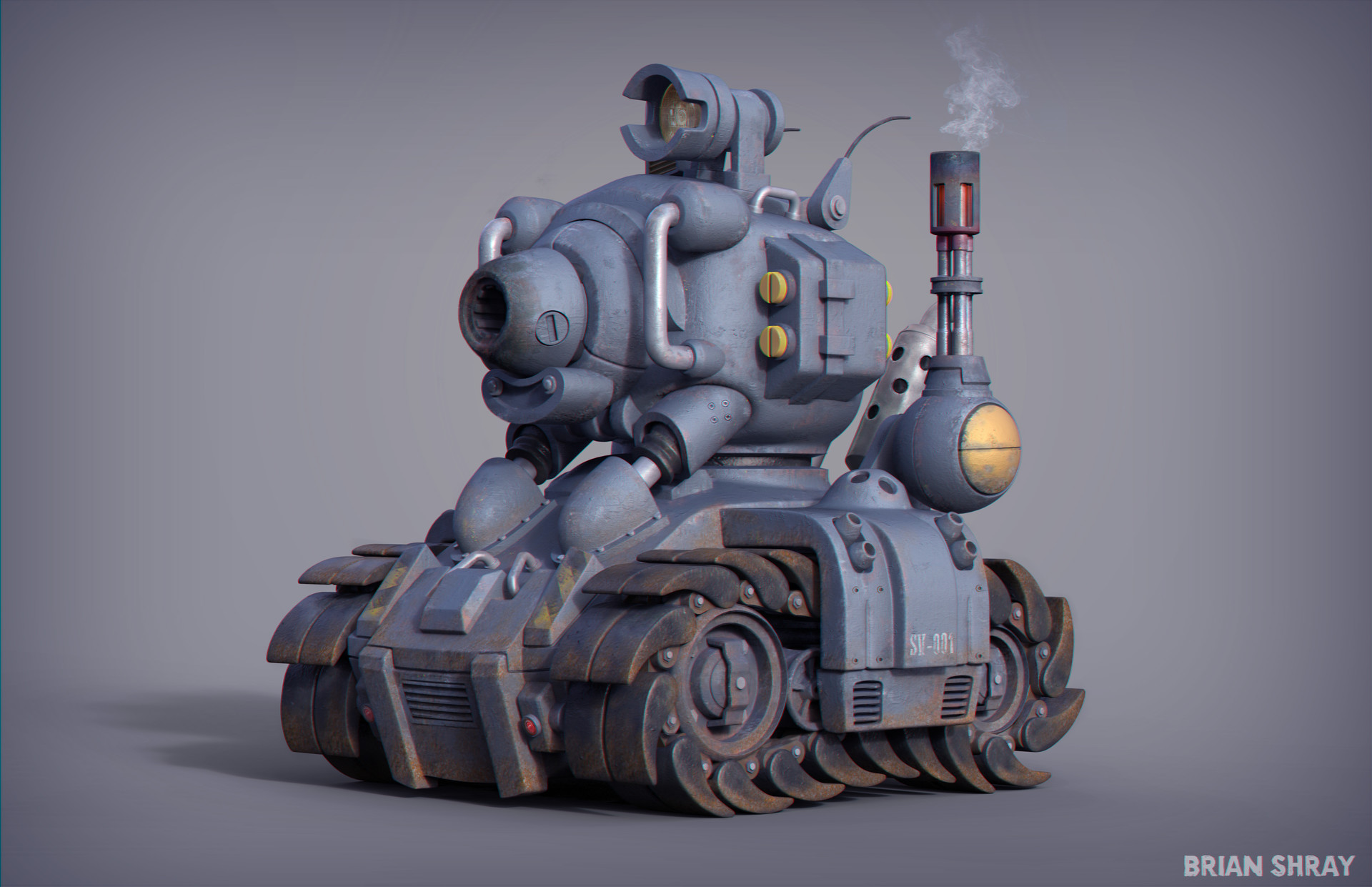 Metal Slug Tank - SV001 | Dirt Ridden Version