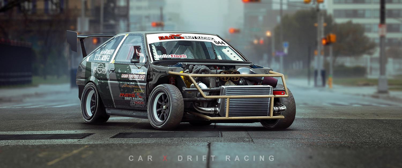 Artstation Carx Drift Racing Ae86 Sergey Kondratovich
