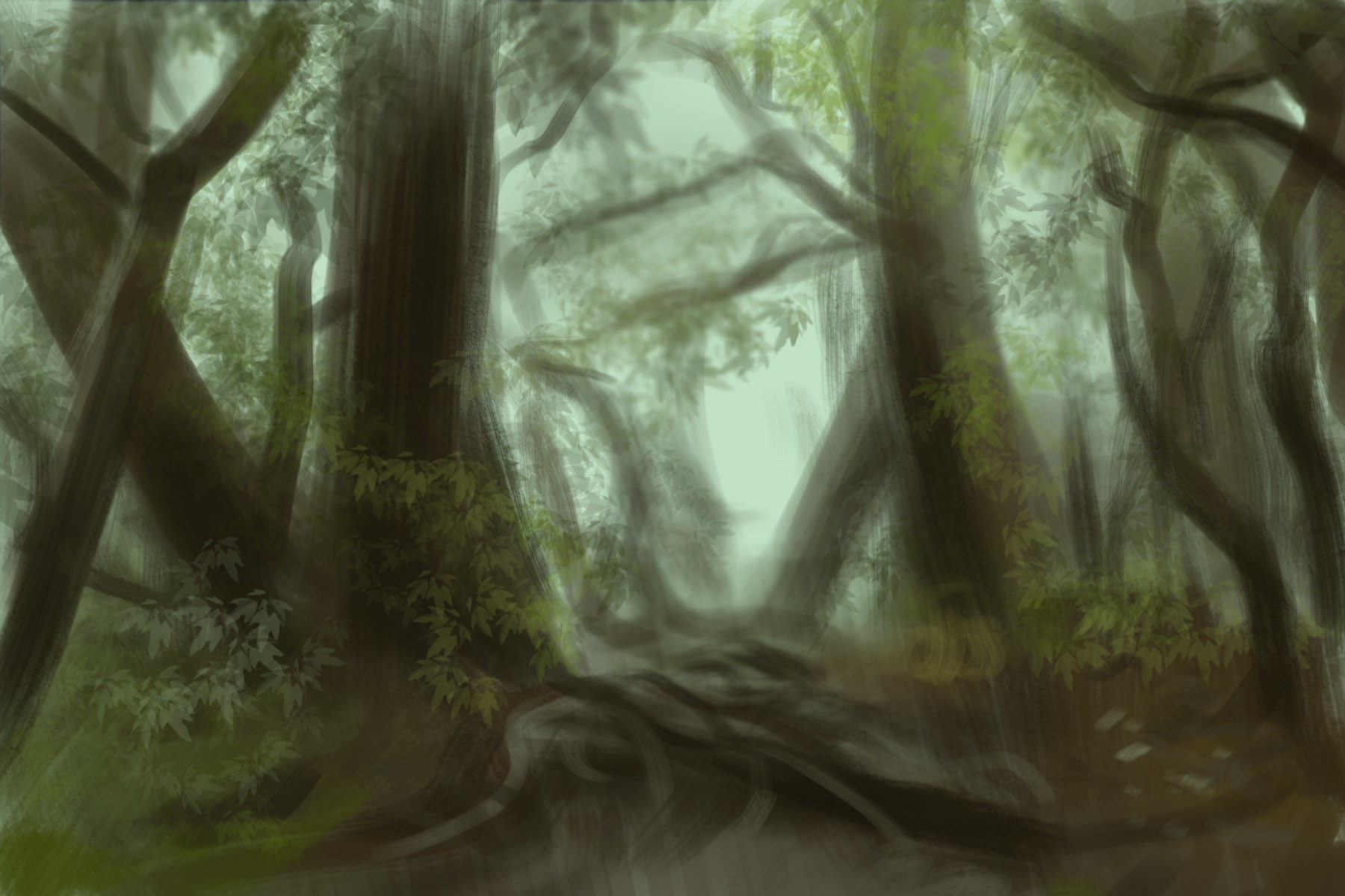 Jake siano forest sketch