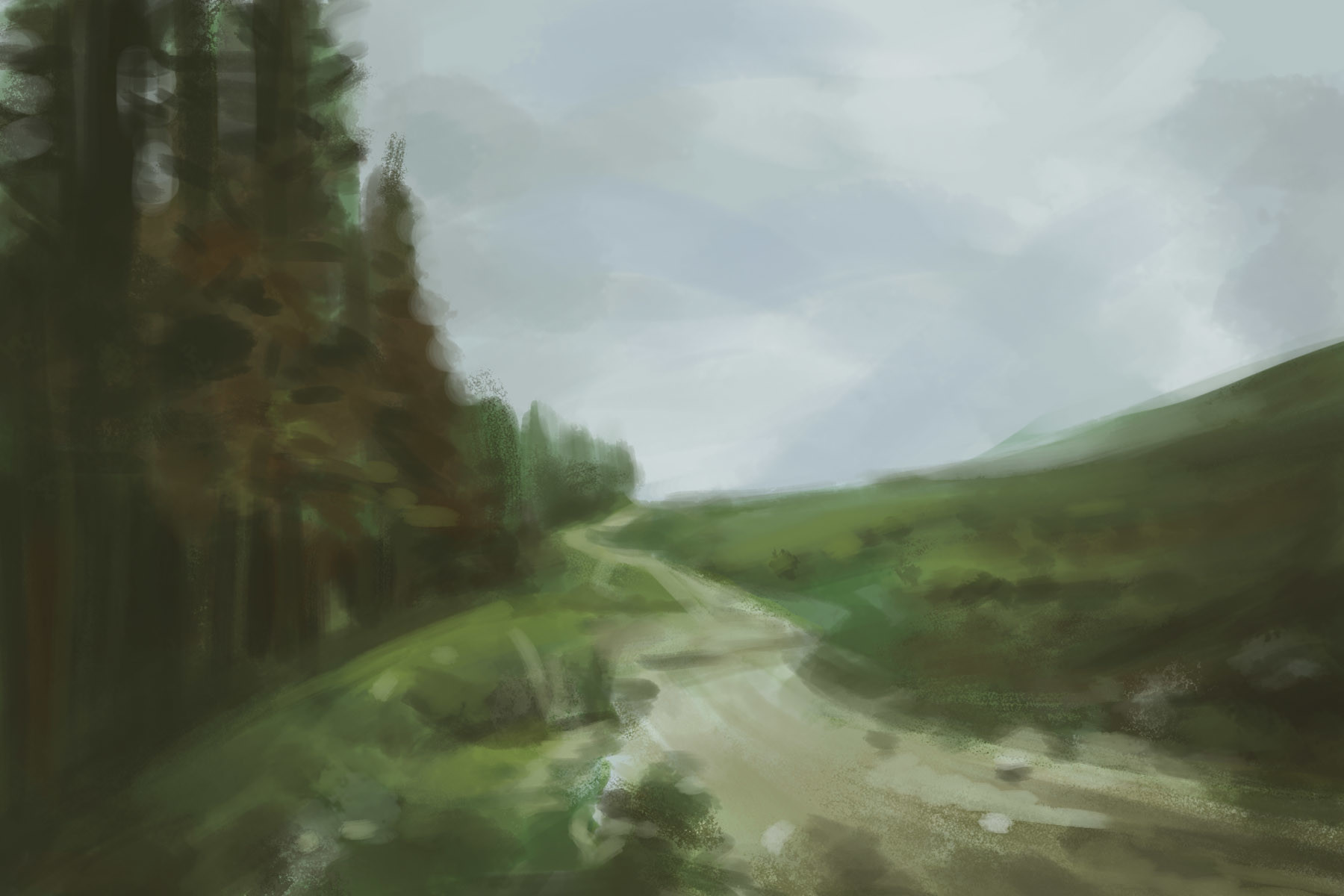 Jake siano forest sketch2