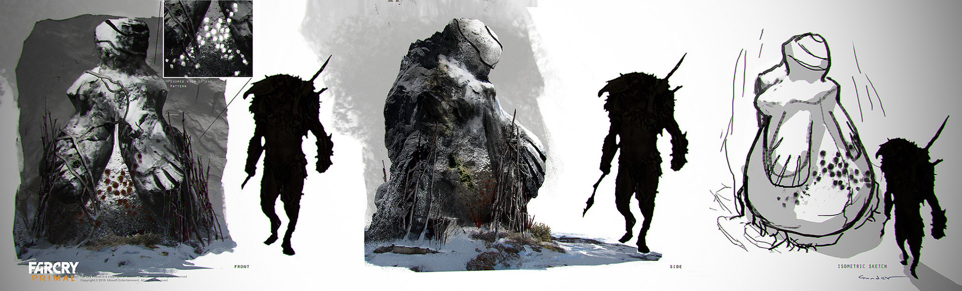 Artstation Udam Fertility Statues Michael Gunder