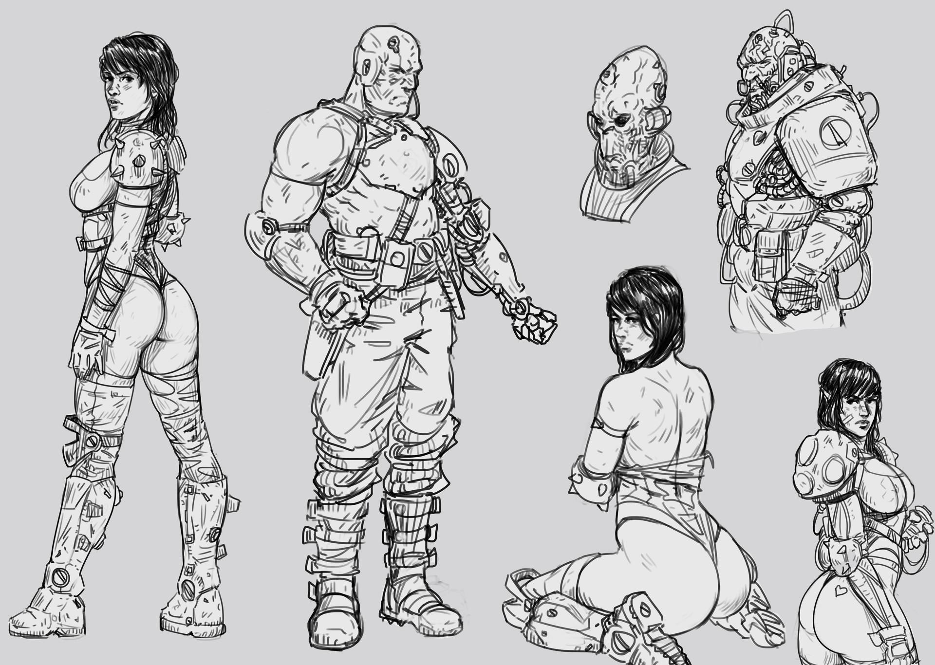 Salvador trakal sketch213