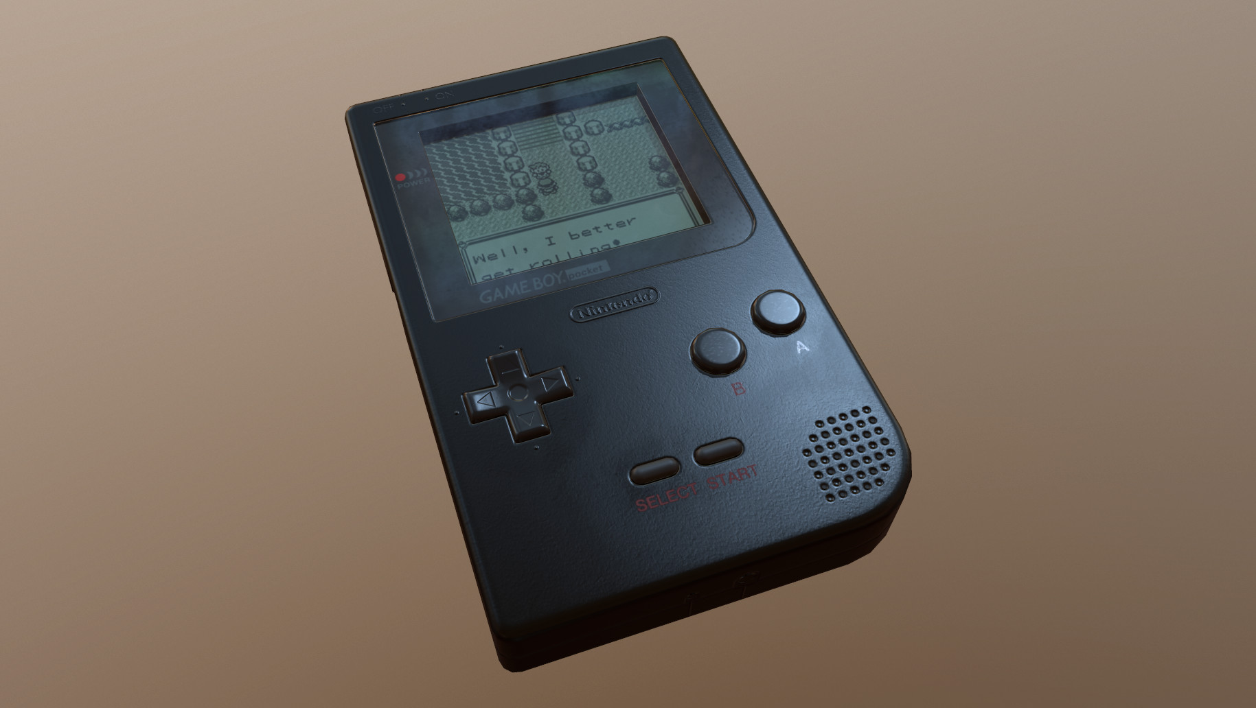 ArtStation - Game Boy Pocket , Florian Neumann