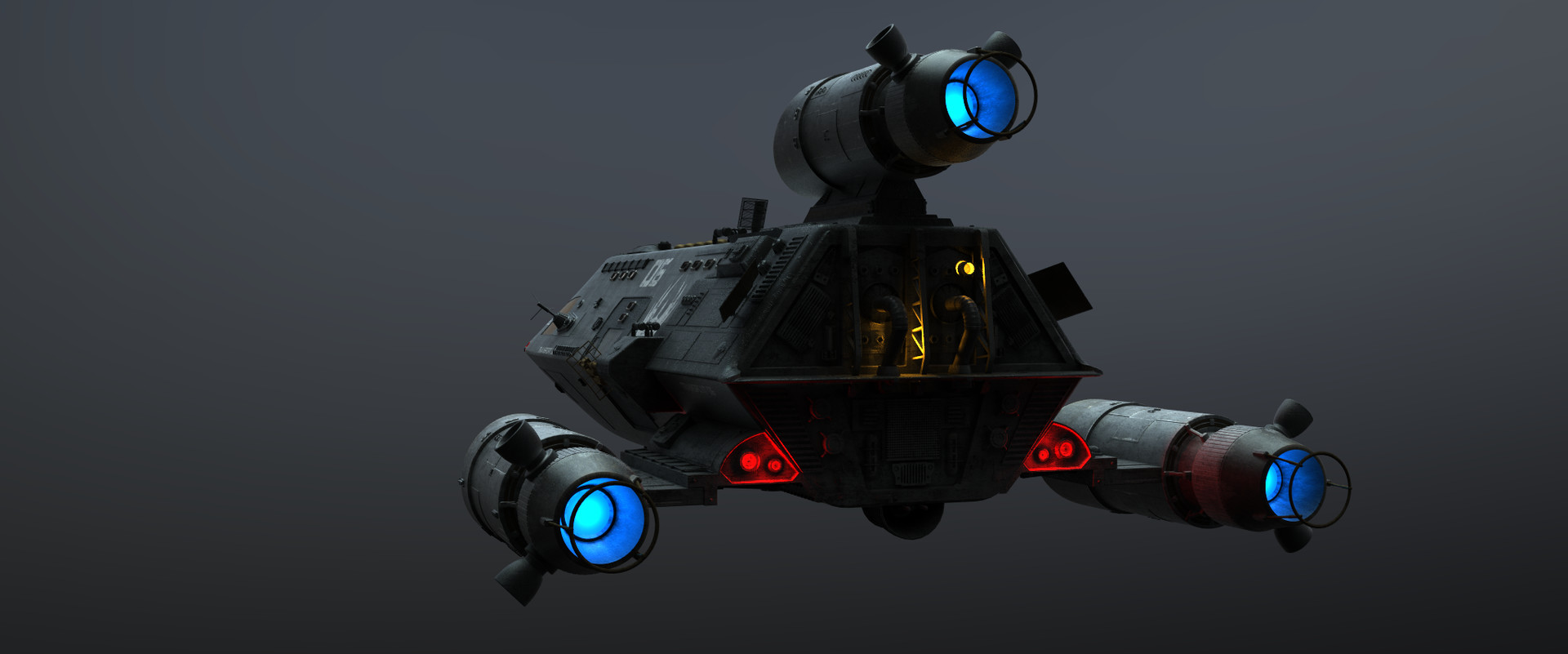 Generic Transport (Originally Modled by Gabe Koener, uprezzed and Militarized by Me)