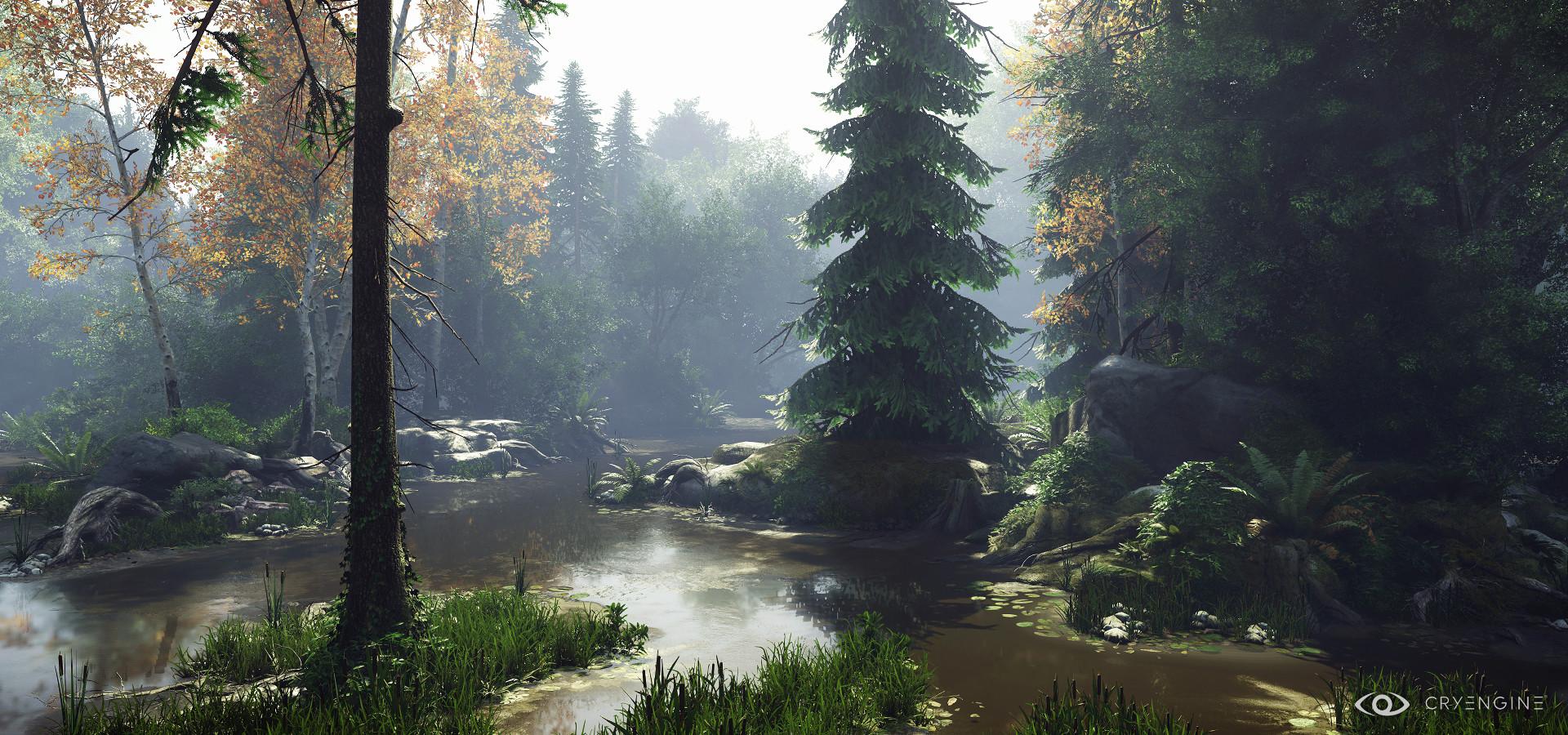 Finn Meinert Matthiesen - CryEngineV - Nature Study #4
