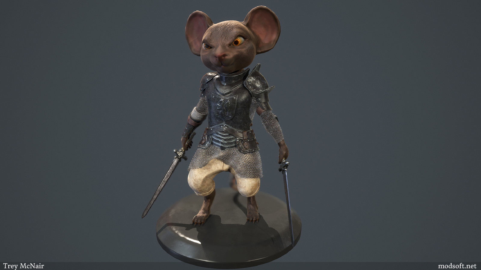 Mouse Knight Character