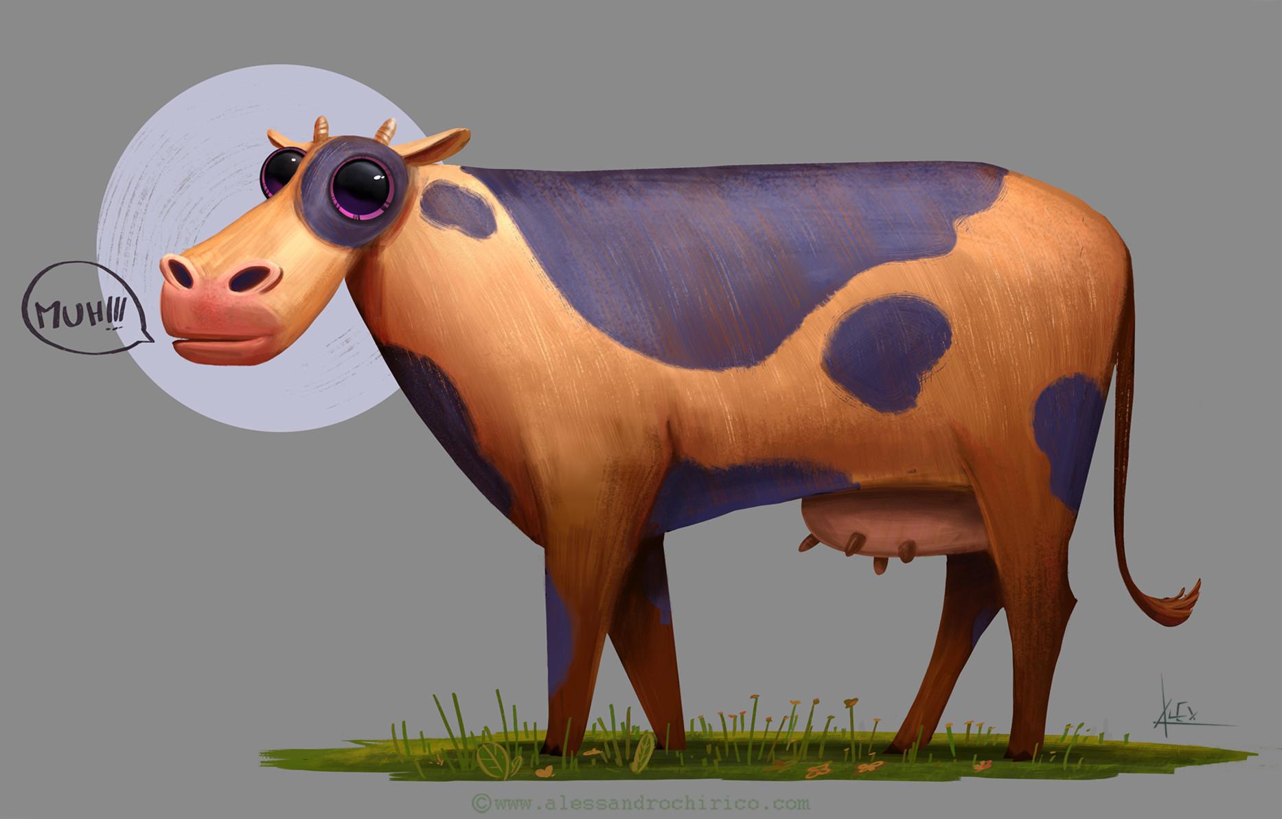 Alessandro chirico cow alessandro chirico