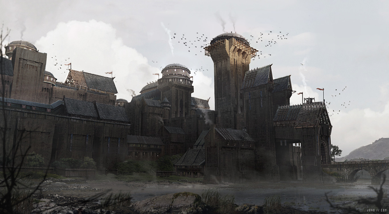 castle concept art by - photo #43