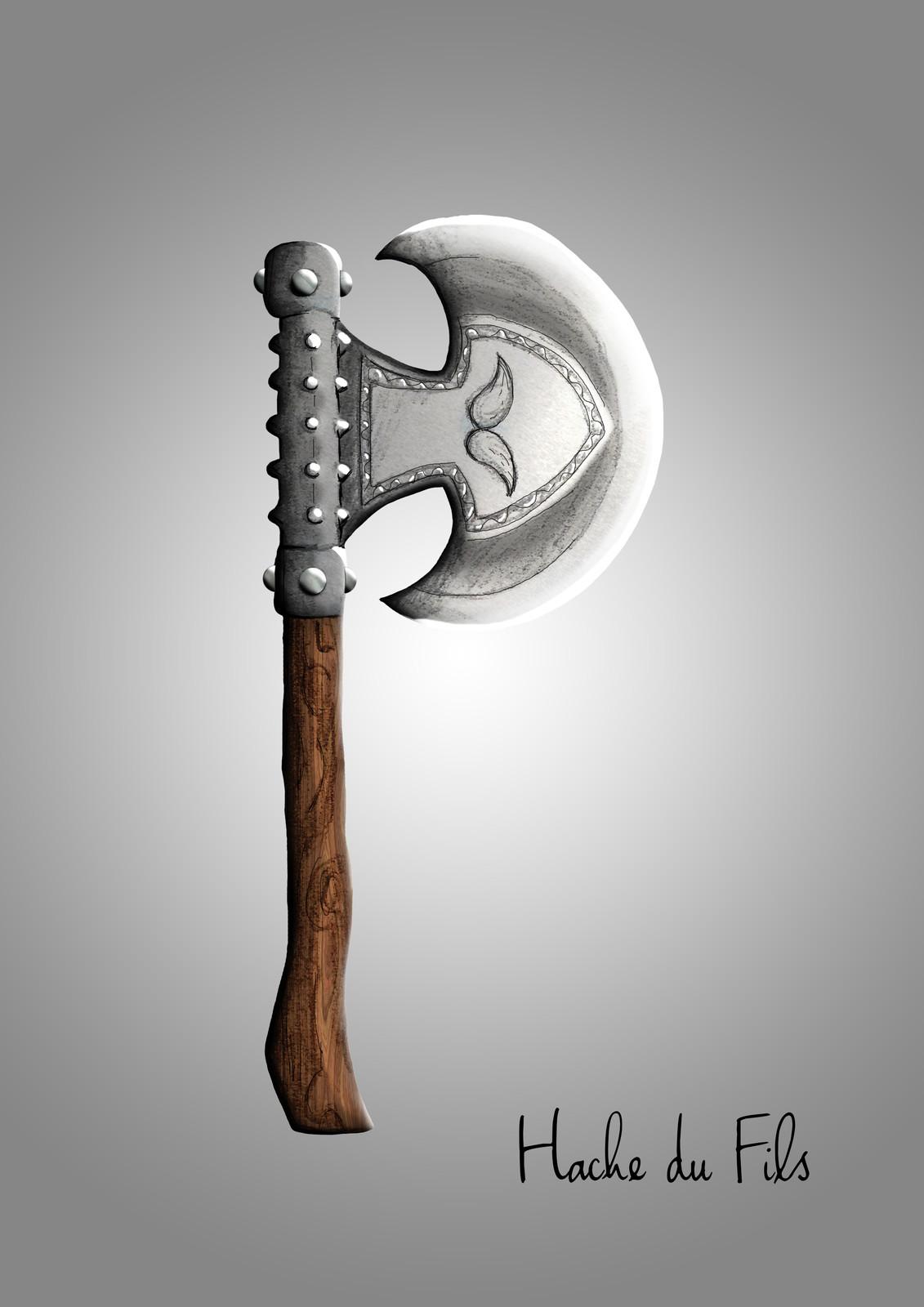 The axe of the son.