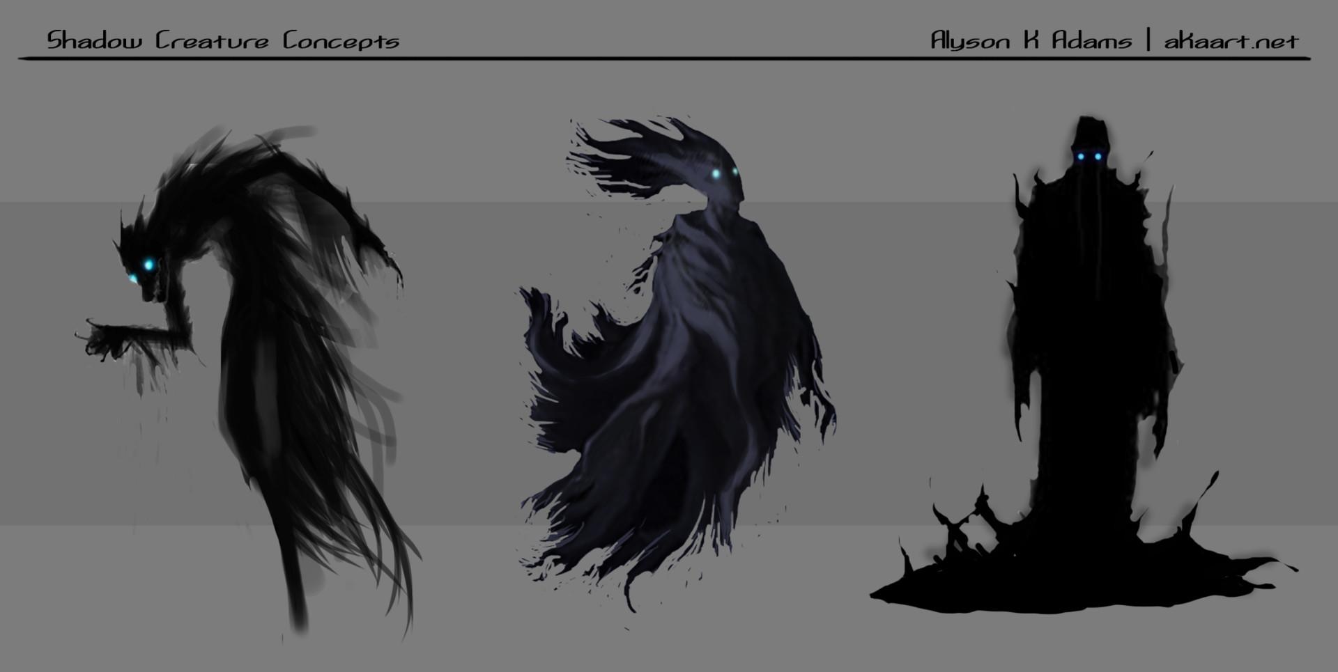 Alyson Adams Project Dose Creature Concepts