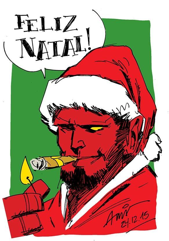 Andre stahlschmidt hellboy sketch natal 2015
