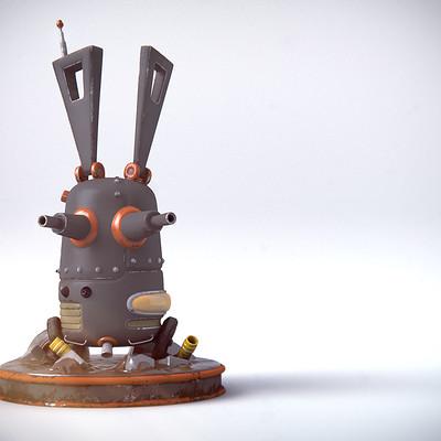 Roland caron lapin robot 0001