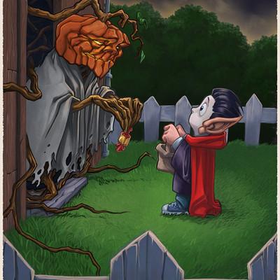 Renaud guyomard halloween2014