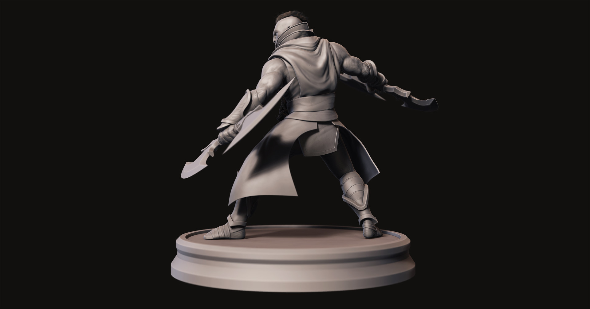 Omar chaouch antimage dota 2 fanart sculpt 01