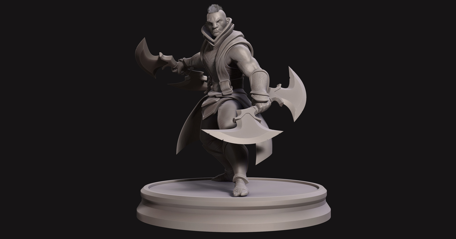 Omar chaouch antimage dota 2 fanart sculpt 04