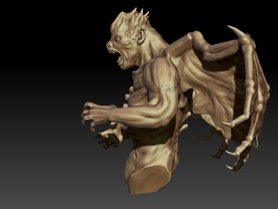 Andrew krivulya final zbrush demon4