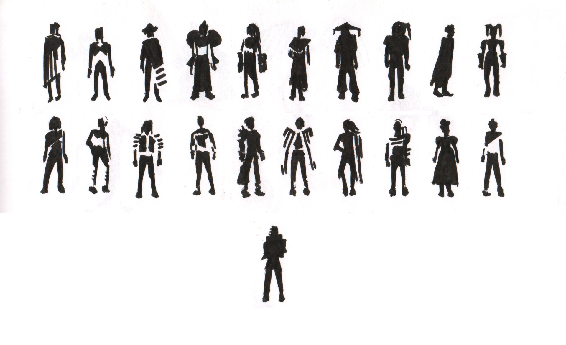 Andrew leung messiah silhouettes