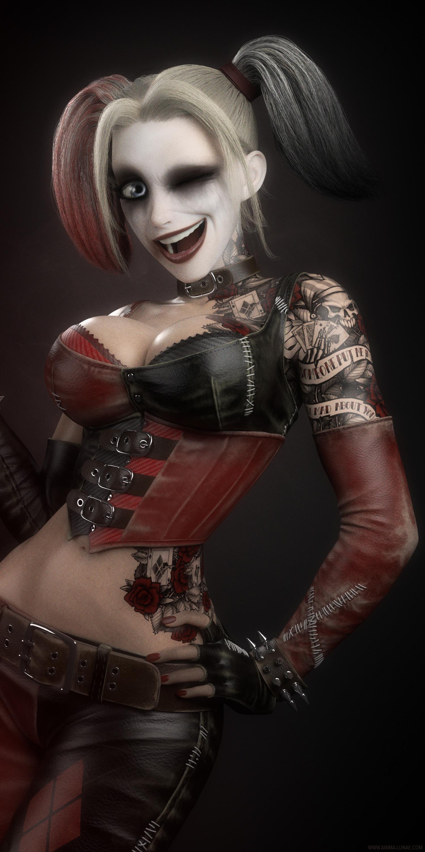 ede0514dd8a4 ArtStation - Harley Quinn