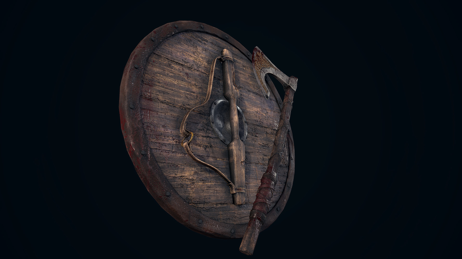 Andrew finch viking shield axe 0000 layer 5