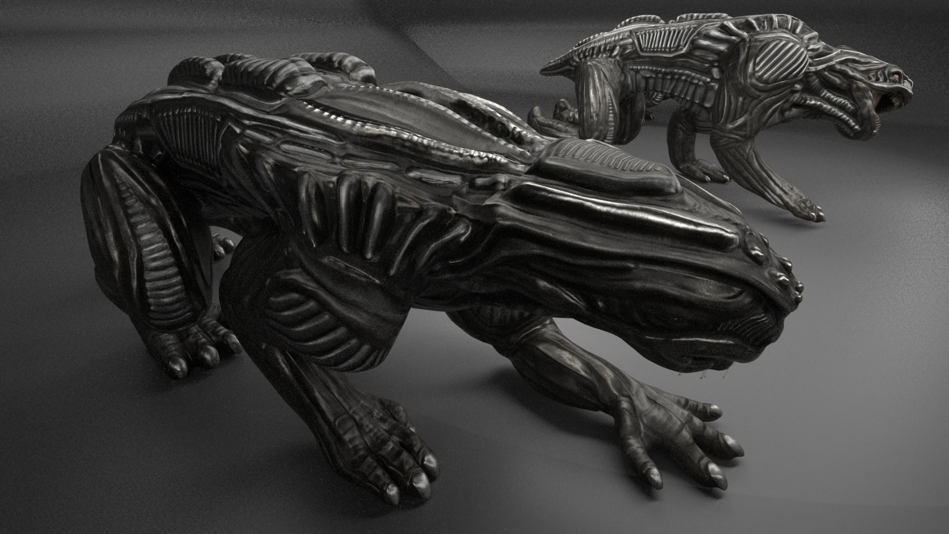 Alien Animal by 3DHaupt