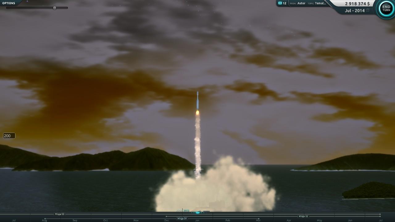 Maciej gornicki racetomars rocket launch