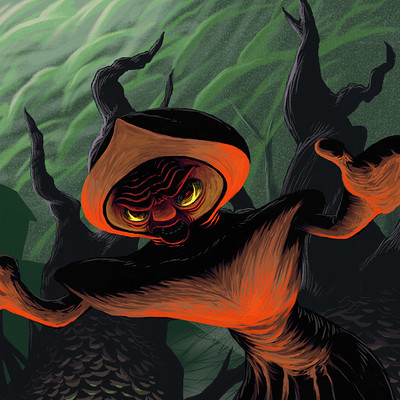 Nathan malone flatwoods monster