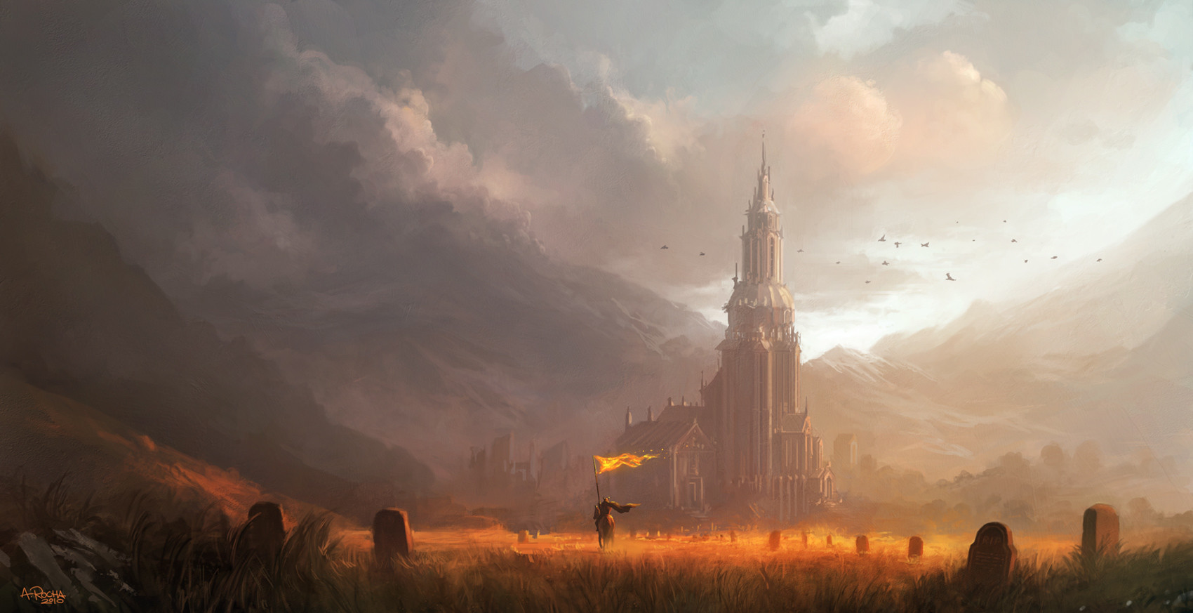 artstation fields of gold andreas rocha