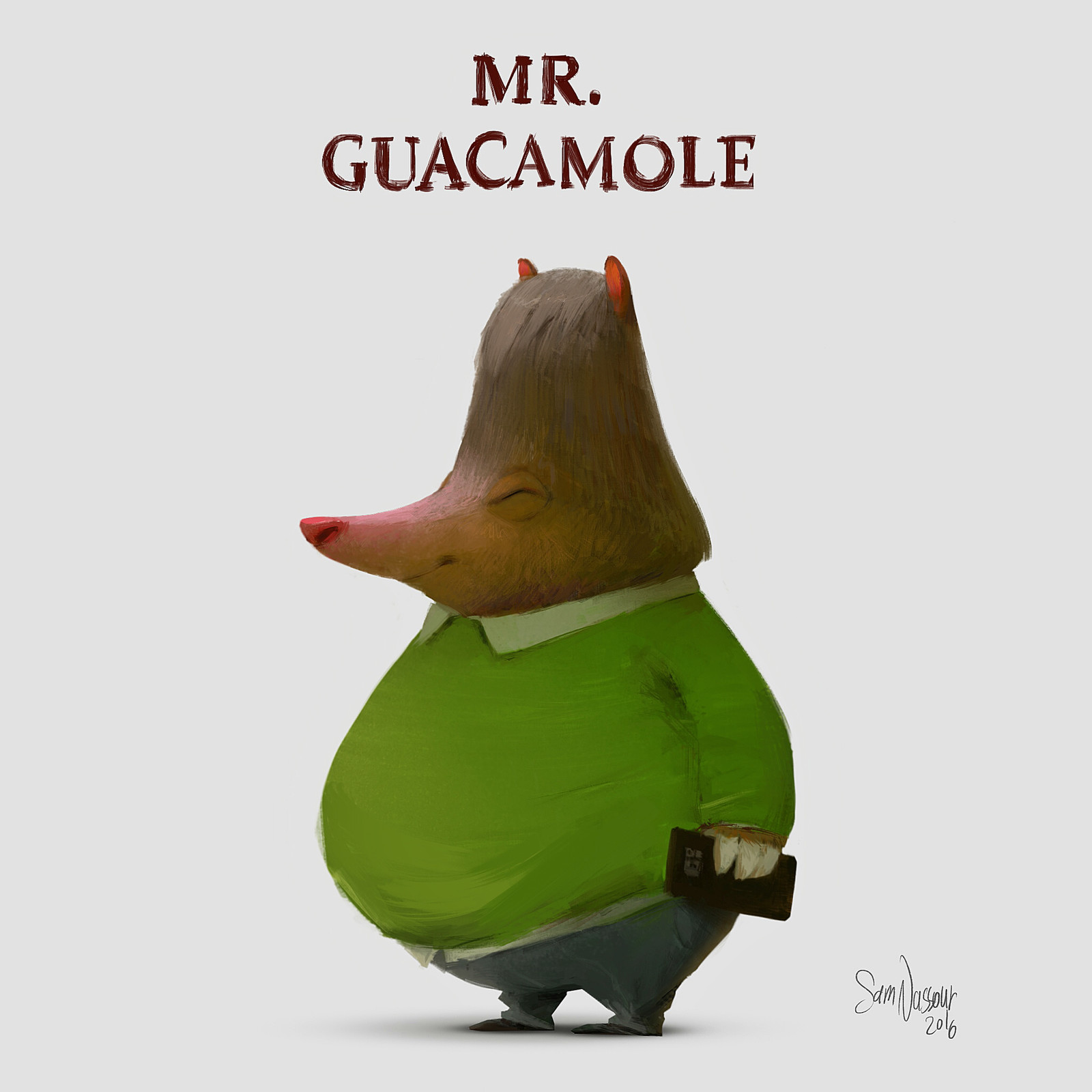 Jolly Mr. Guacamole..