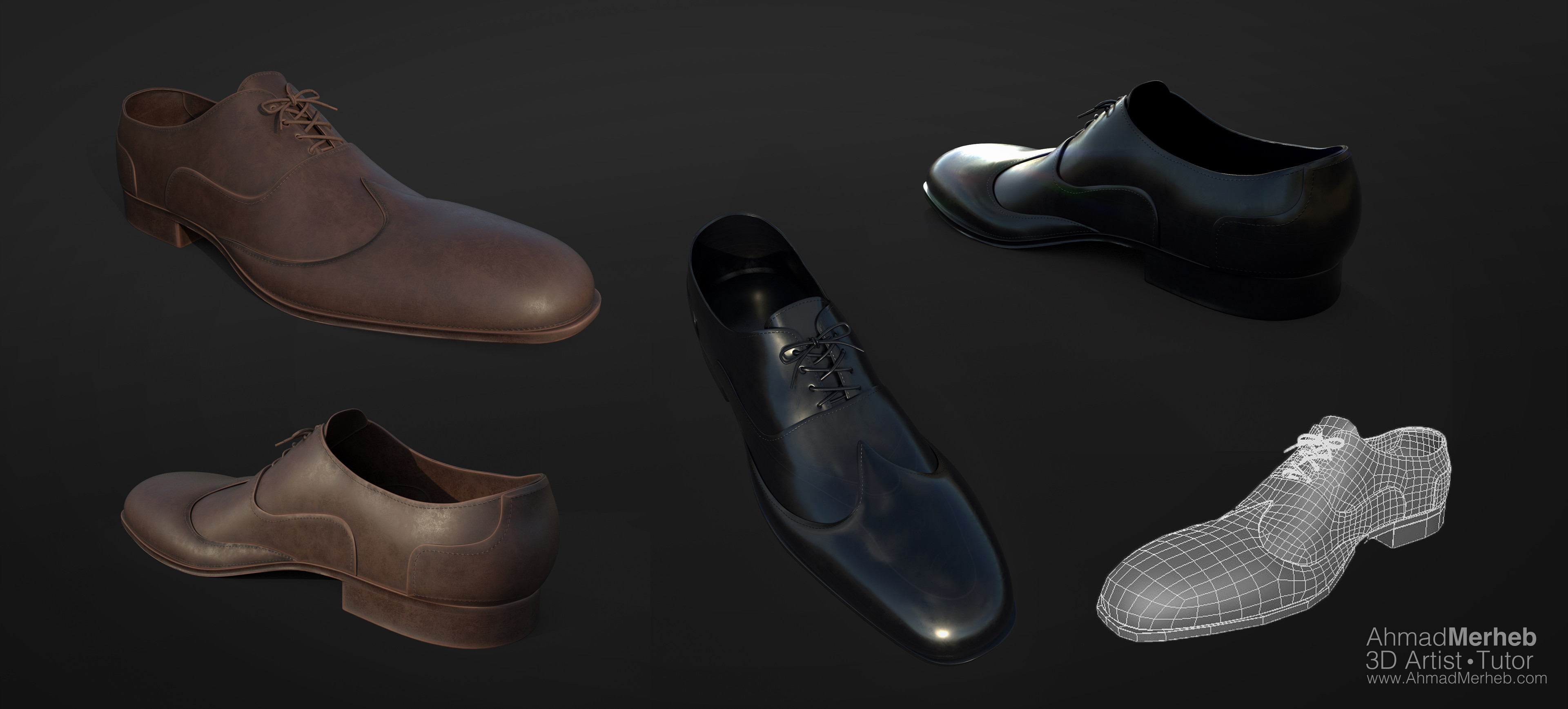 Shoes sculpt and topology