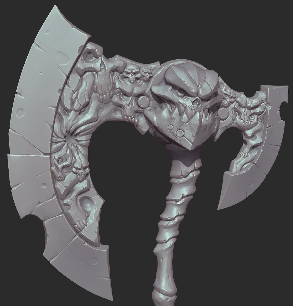 Michael vicente ds weapon closeup