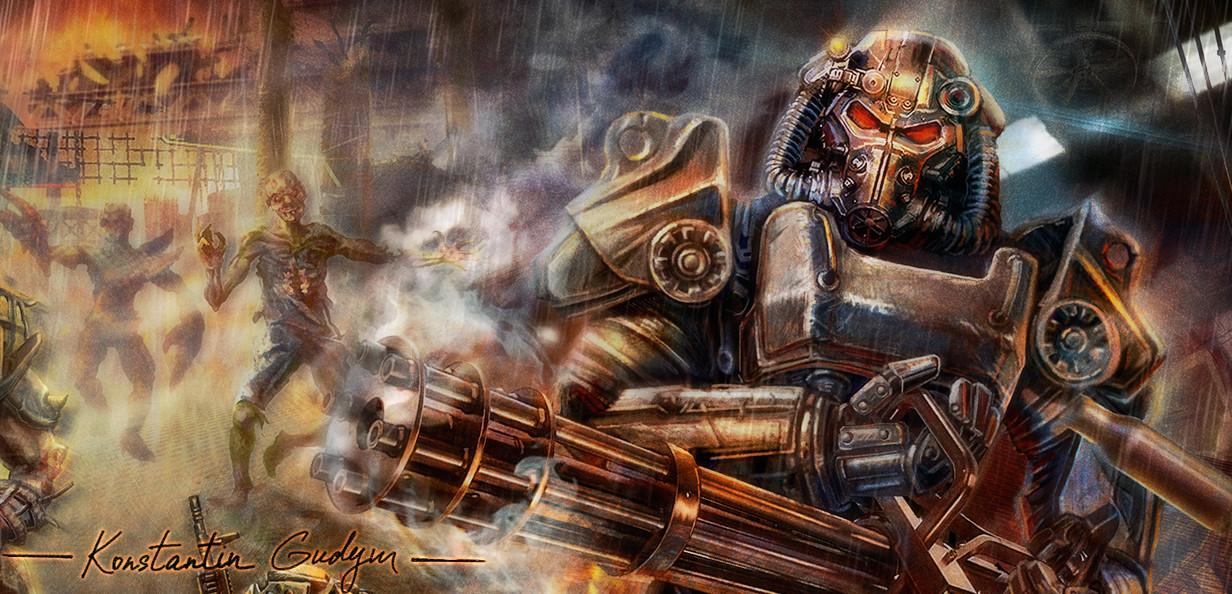 Konstantin gudym fallout art fr 2gks