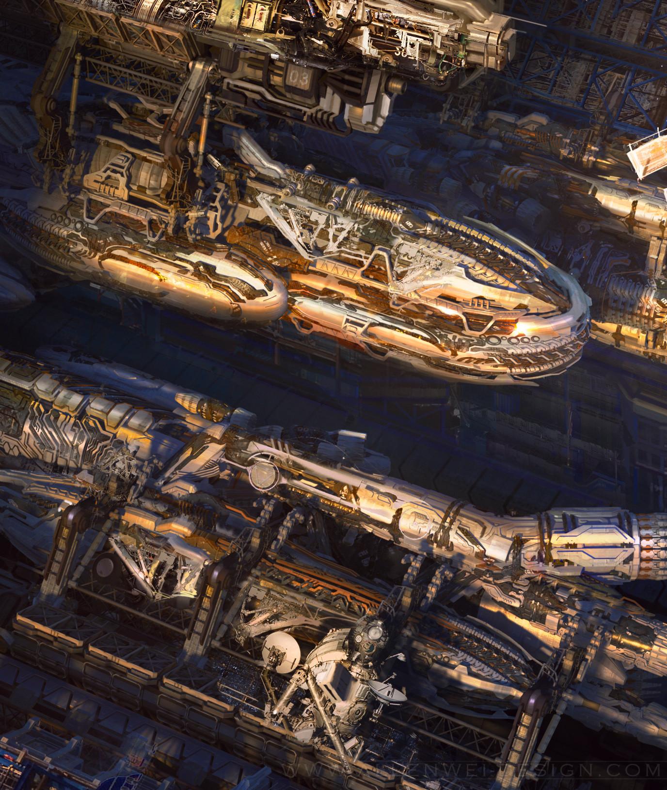 Allen wei alien ship1 d1