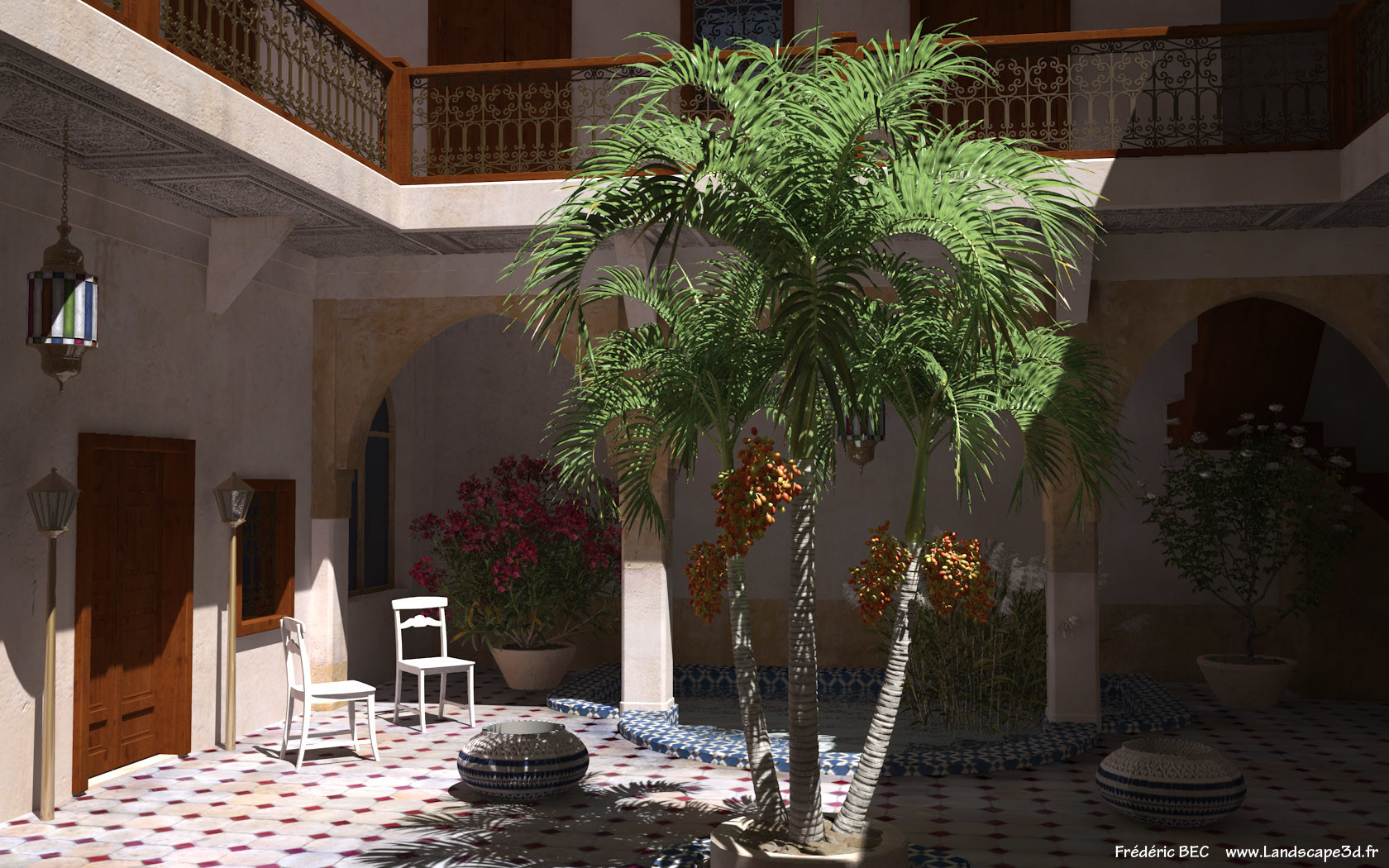 Frederic Bec Adonidia Merrillii Veitchia Christmas Palm Plant Tree 3d Model  Tpf The Factory 3ds Cad