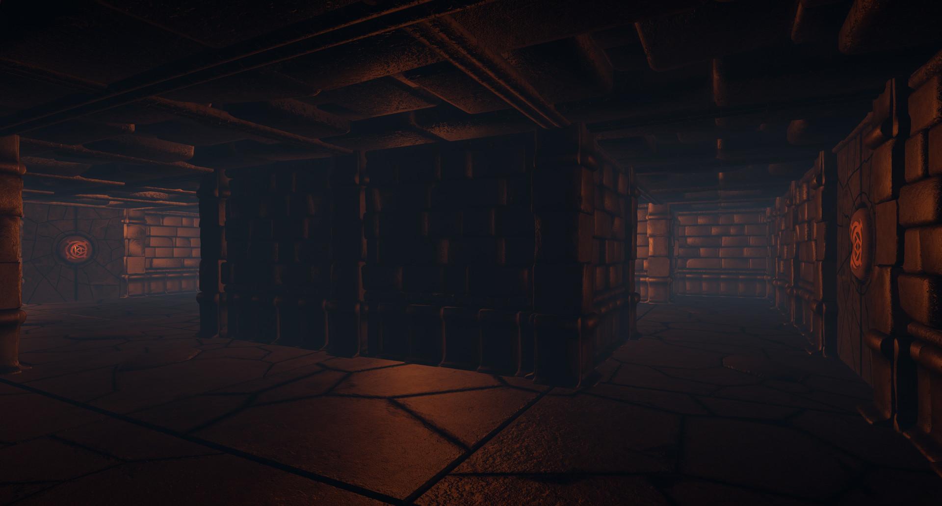 ArtStation - Procedural Dungeon Generator, Christopher Hollywood