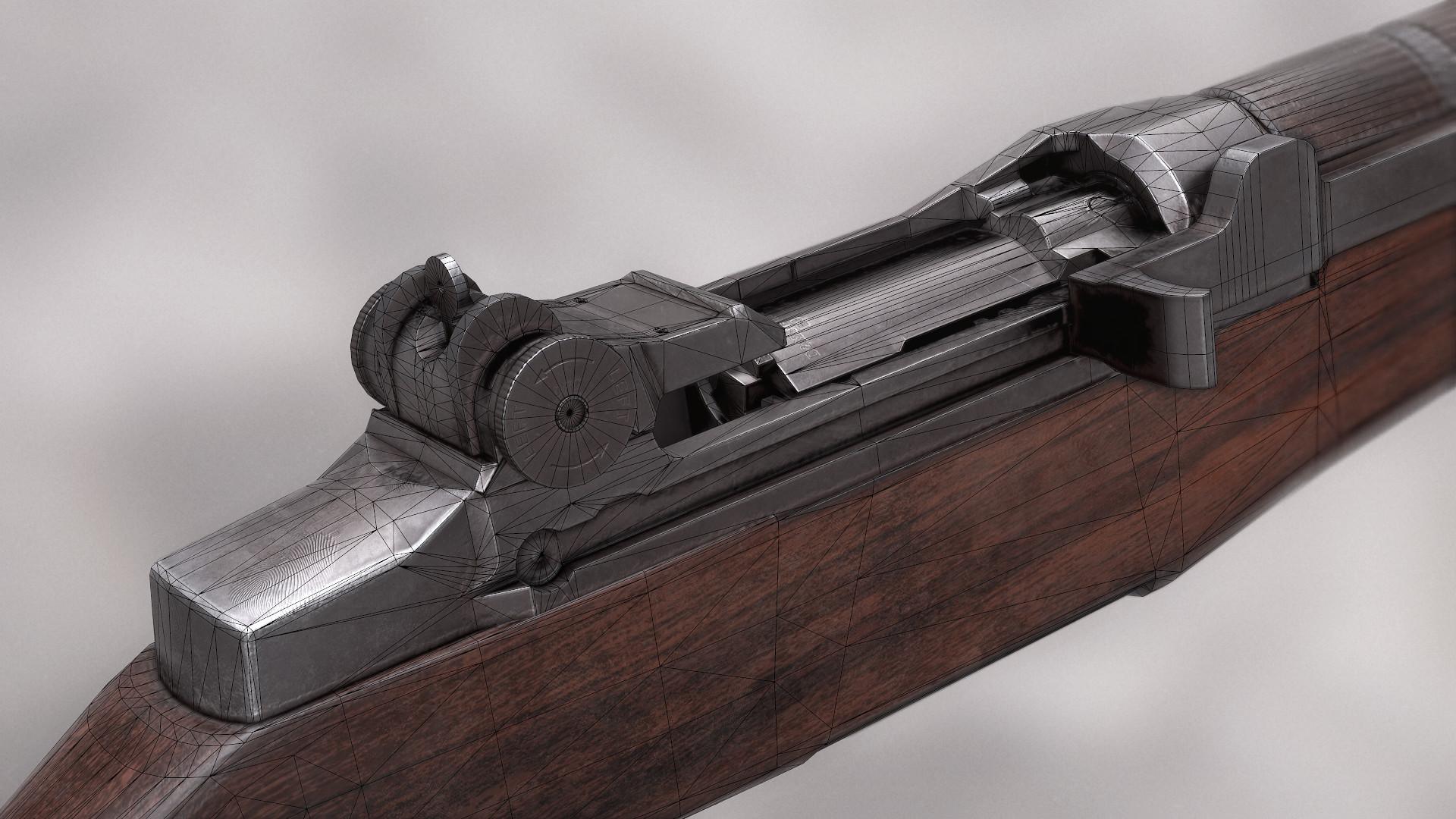 Jack Sharpe  M1 Garand