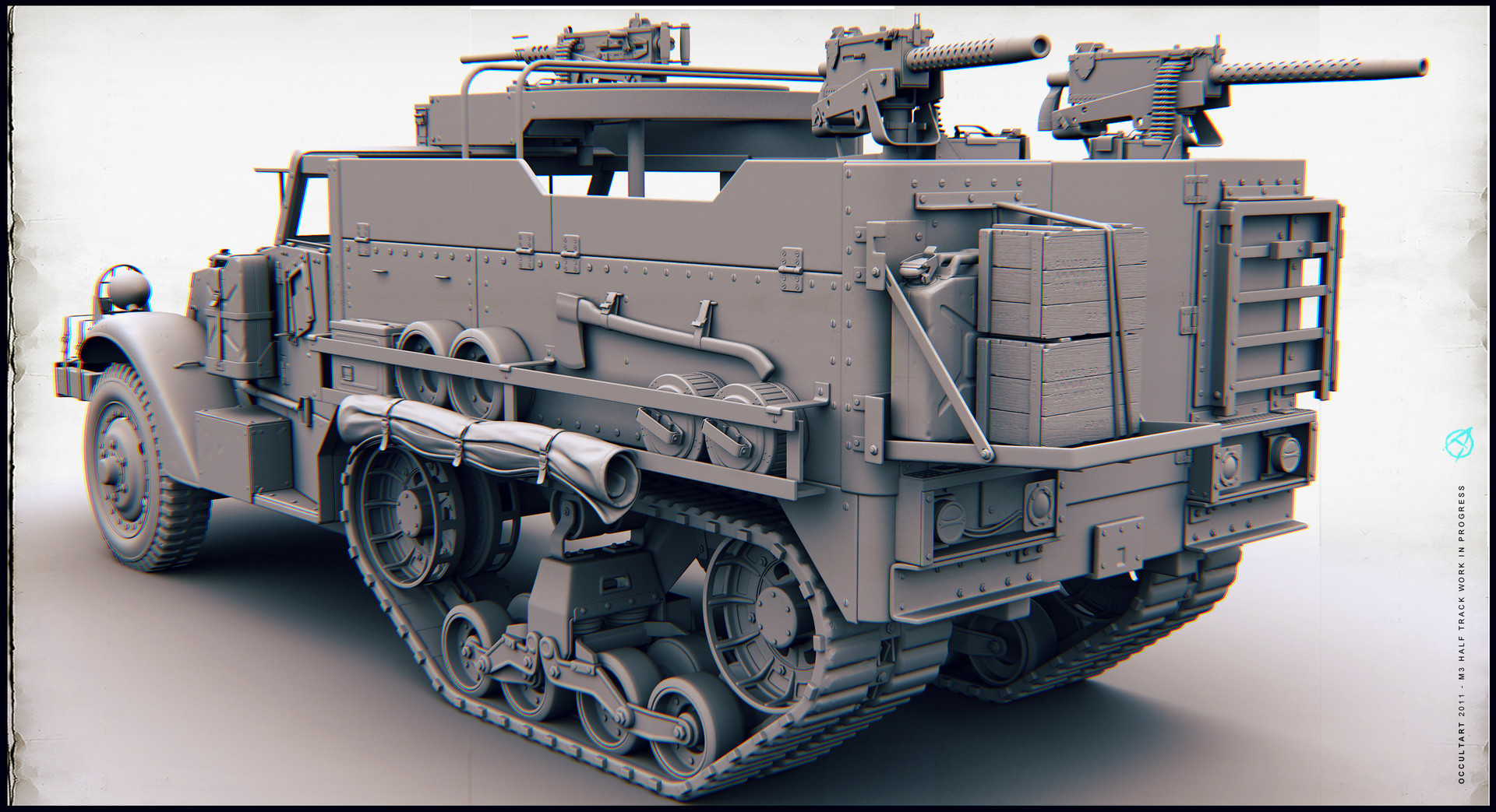 Occultart   m3 halftrack 08