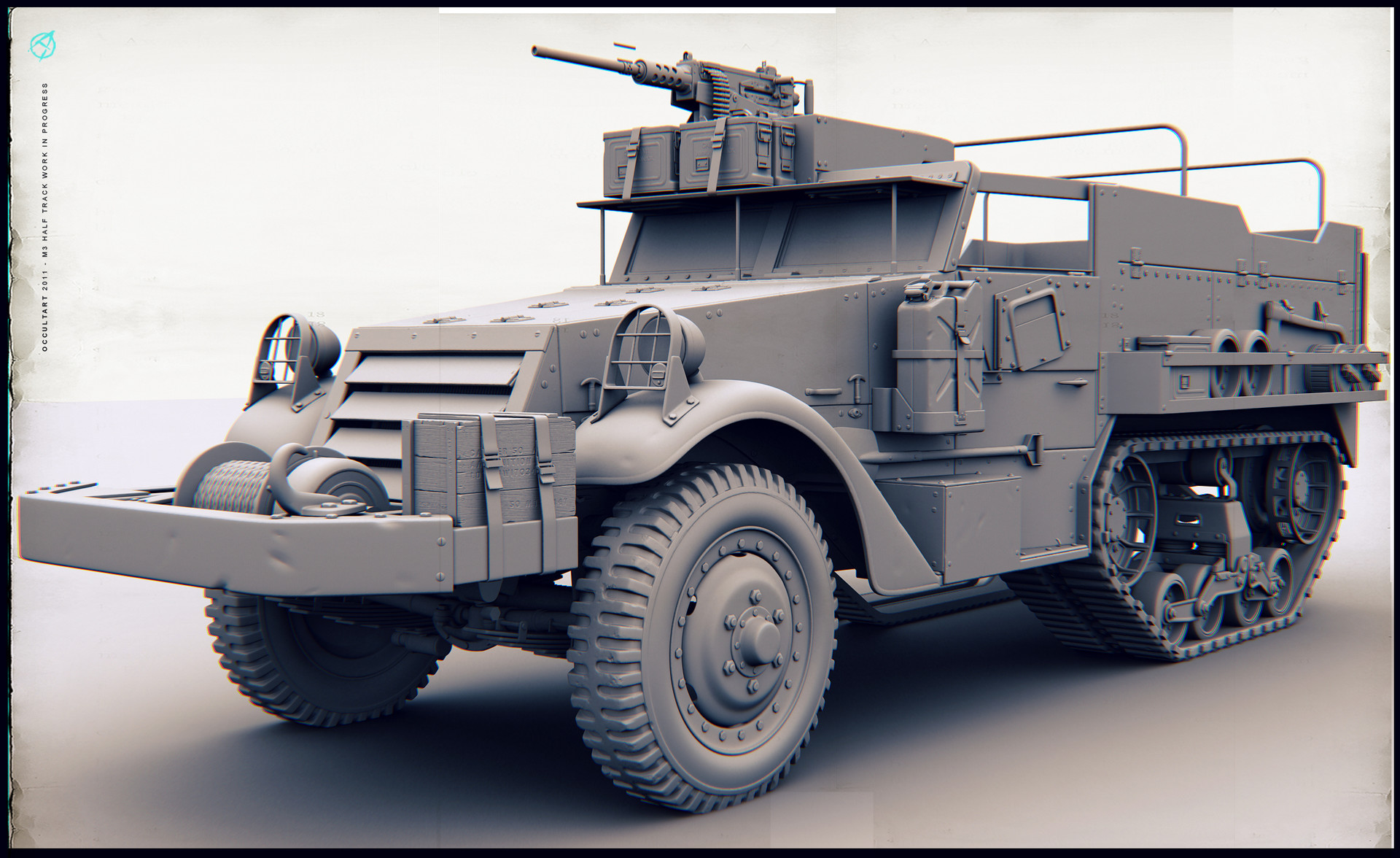 Occultart   m3 halftrack 04