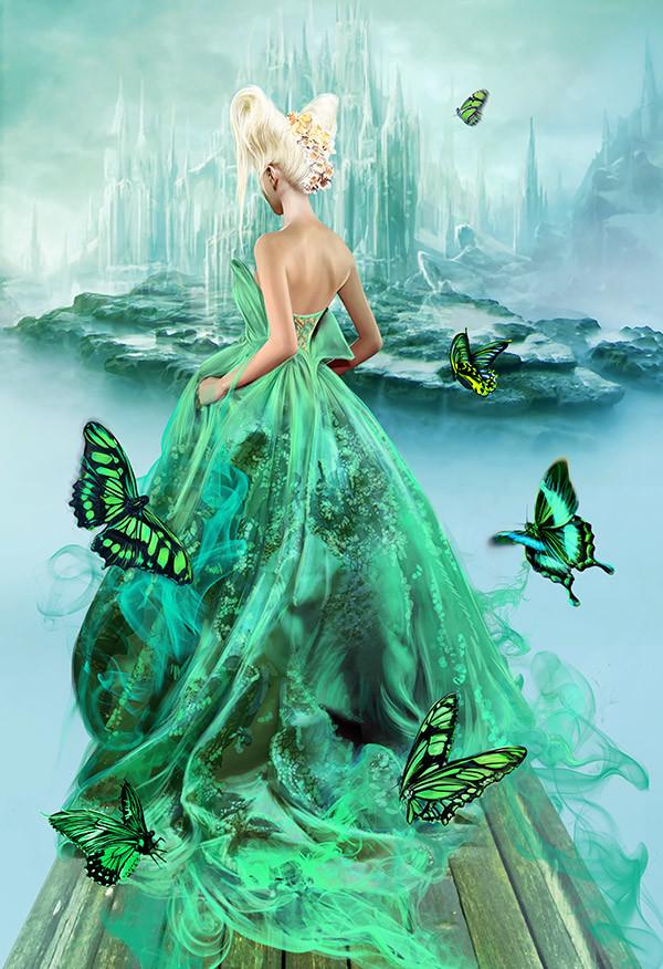 Katarina sokolova 74 butterfly kingdom