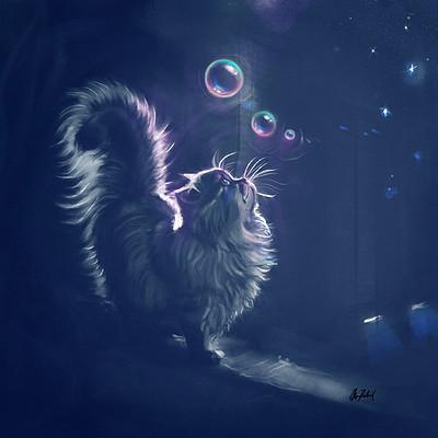 Okan bulbul kittyblue01