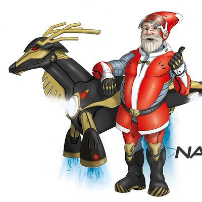 Saimon toncelli christmas 2067 by artbysai d5psr4e