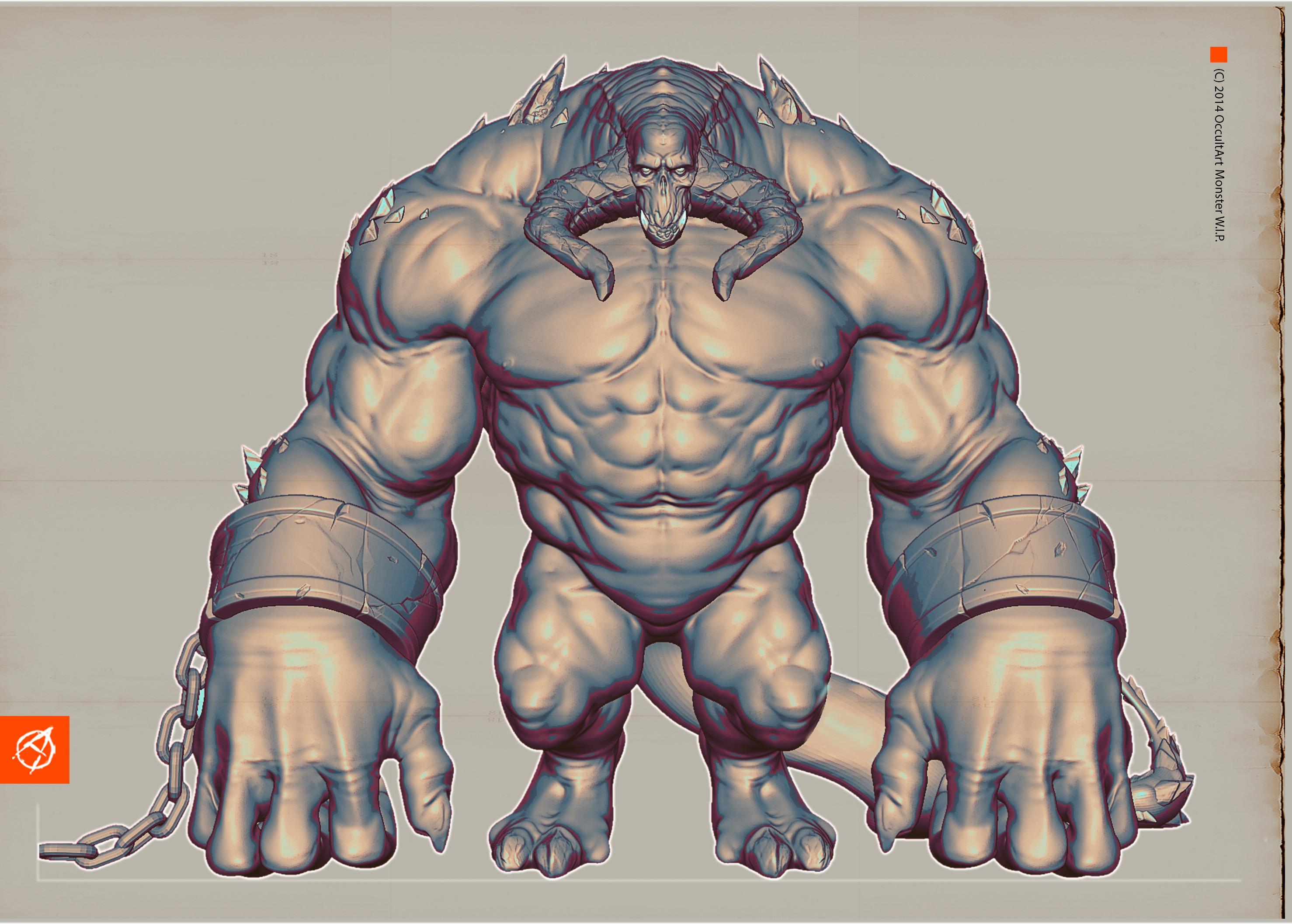 Demon Monster Sketch