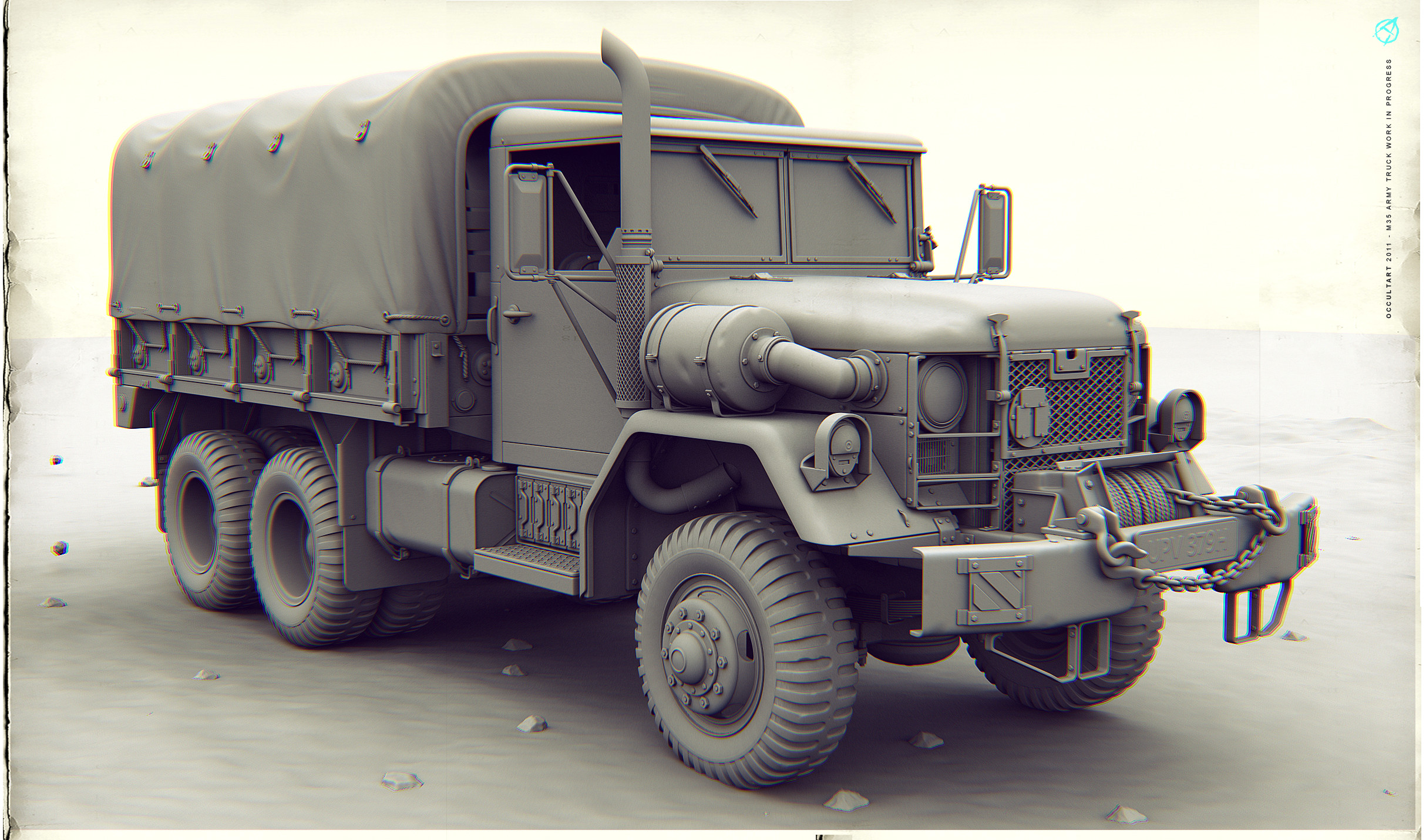 M35 Army Truck