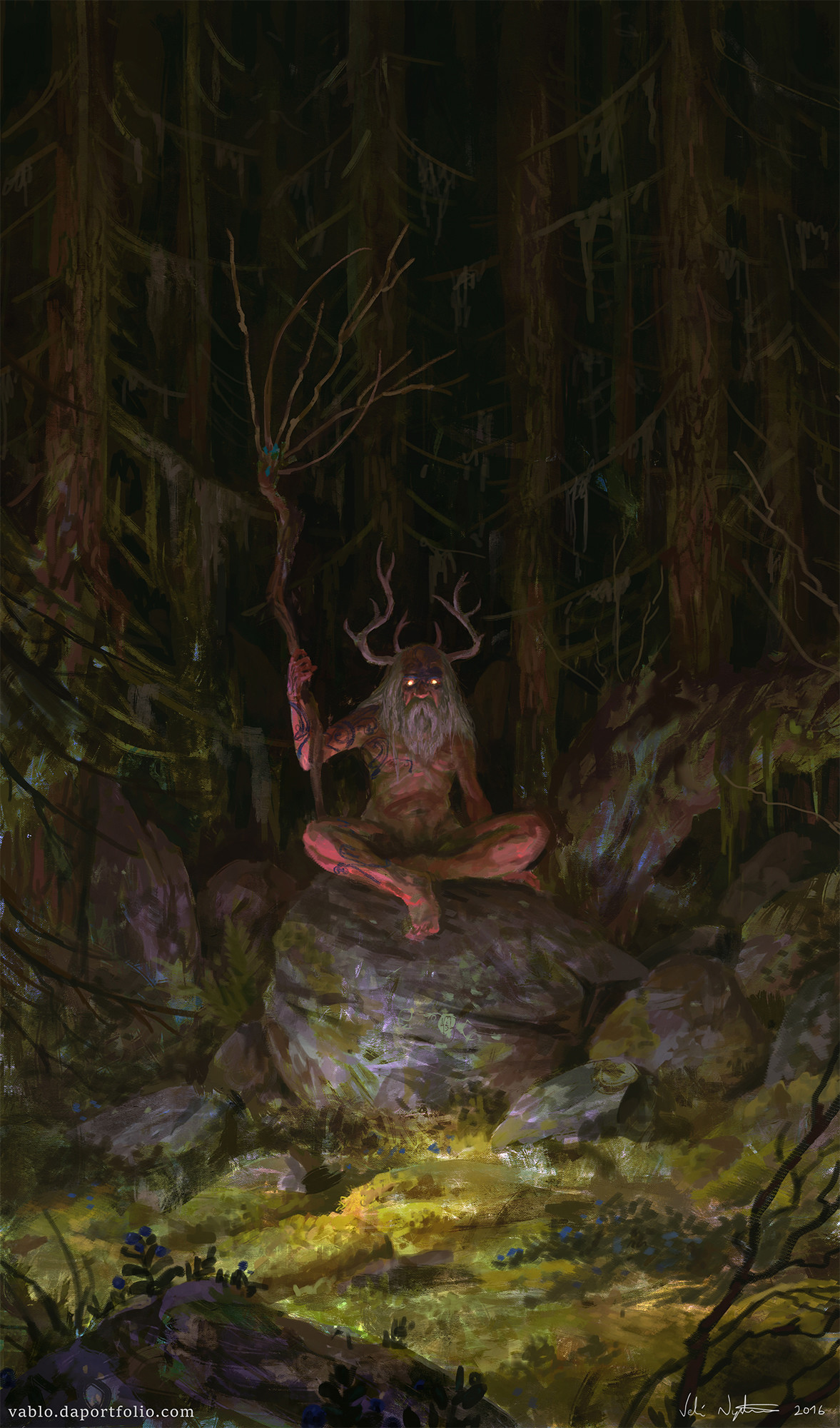 Prophet of Dark Forest