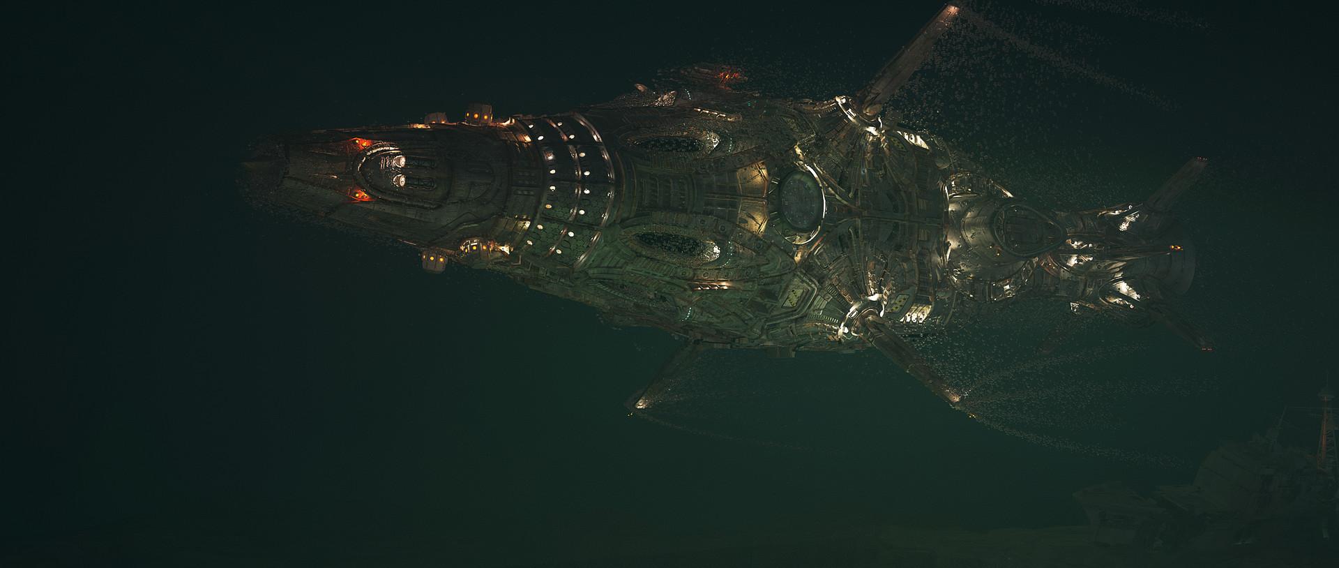 About >> ArtStation - sci-fi submarine, Maxim Kashirin