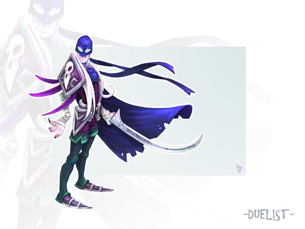 Jose samaniego duelist concept